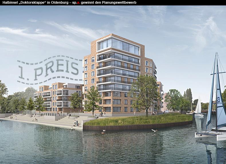 Schulze partner architektur gewinnt den wettbewerb zum for Architektur oldenburg