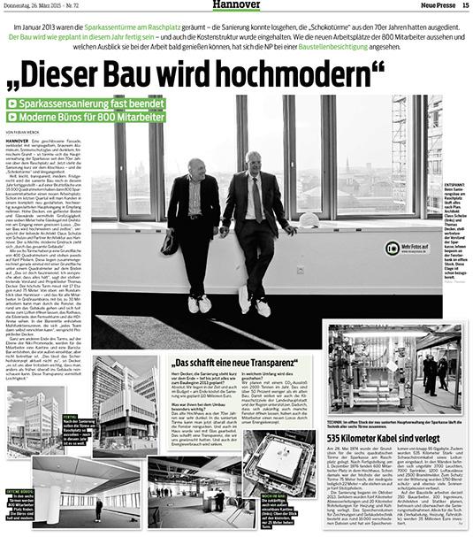 Architekt Hannover pressespiegel schulze partner architektur